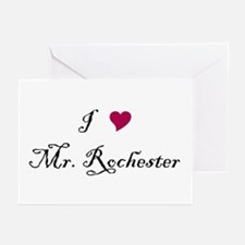 I Heart Mr. Rochester Greeting Cards (Pk of 20)