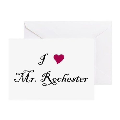 I Heart Mr. Rochester Greeting Cards (Pk of 10)