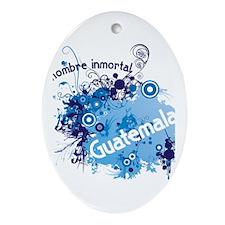 GUATEMALA Ornament (Oval)