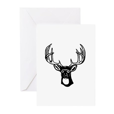 Whitetail Deer Greeting Cards (Pk of 20)