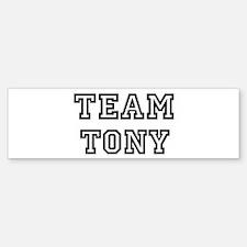 Team Tony Bumper Bumper Bumper Sticker