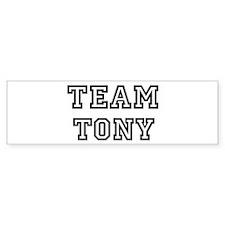 Team Tony Bumper Bumper Sticker