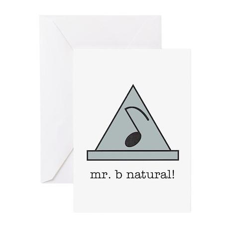 mr. b natural! Greeting Cards (Pk of 10)