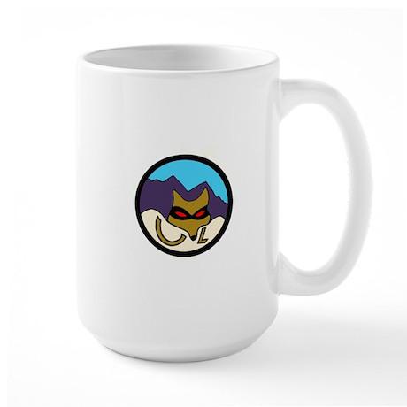 Caza Ladron Large Mug