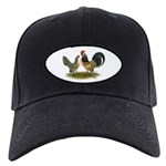 Dutch Blue Quail Chickens Black Cap