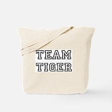 Team Tiger Tote Bag