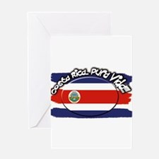 COSTA RICA Greeting Card