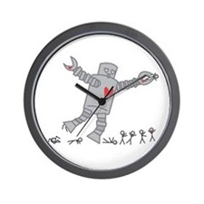 Robot Love Wall Clock