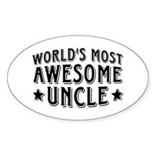 Awesome Uncle Decal