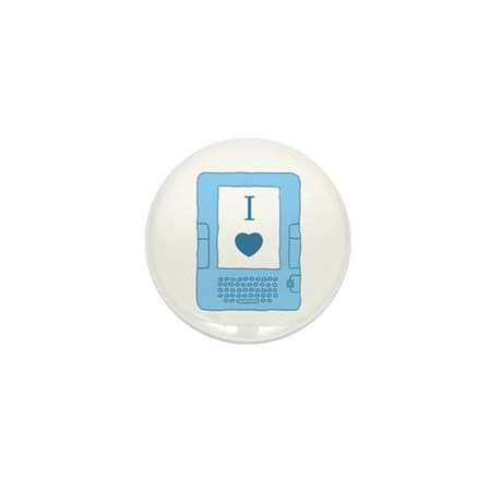 i heart ebooks Mini Button
