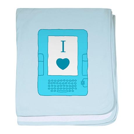 i heart ebooks Infant Blanket