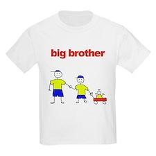 Big brother of 2 Kids T-Shirt