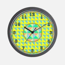 <b>OP ART SERIES:</b> Op Art Wall Clock