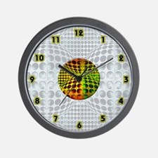 <b>OP ART SERIES:</b>Strange New Worlds Clock