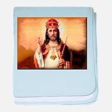 Jesus Christ Infant Blanket