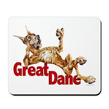 Great Dane Brindle LB Mousepad