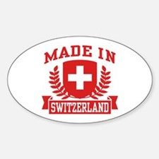 Made In Switzerland Decal