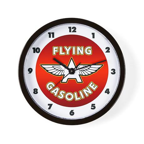 Flying A Gasoline Wall Clock