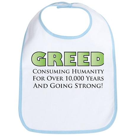 Greed Bib