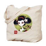 Sakura Girl Tote Bag - LOOK BACK!