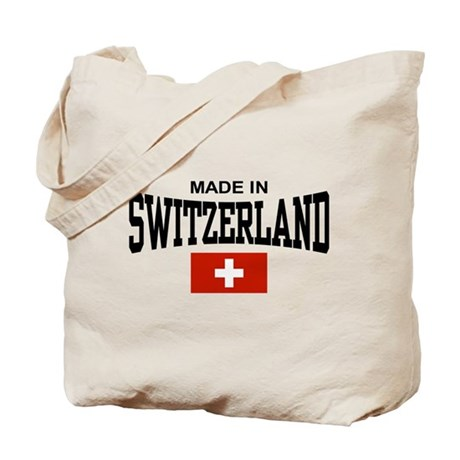 Made In Switzerland Tote Bag