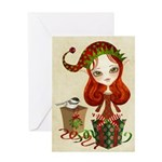 Jollybelle Christmas Elf Greeting Card