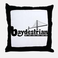 Baydestrian Throw Pillow