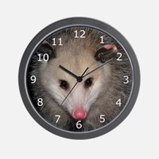 Possumbilities Wall Clock