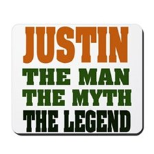 JUSTIN - The Legend Mousepad