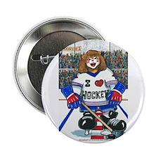 Female Hockey Button