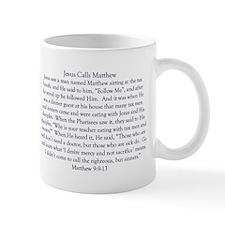 Jesus Calls Matthew Mug