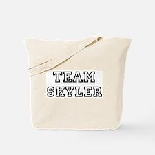 Team Skyler Tote Bag