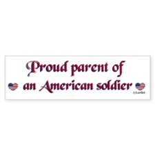 Proud Parent 1 Bumper Bumper Sticker