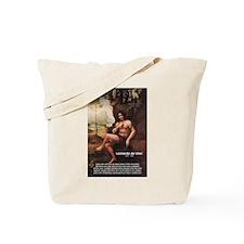Leonardo da Vinci Quote Tote Bag