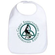Cute Sighthound Bib