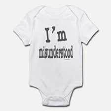 I'M MISUNDERSTOOD Infant Bodysuit