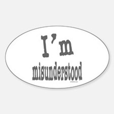 I'M MISUNDERSTOOD Decal