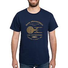 Enterprise-A (worn look) T-Shirt
