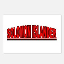 """Solomon Islander"" Postcards (Package of 8)"