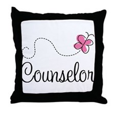 Cute Counselor Throw Pillow