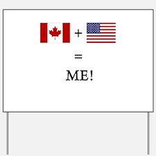 Funny Canada flag Yard Sign