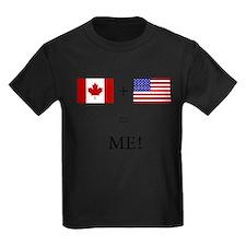 Cute Canadian american T