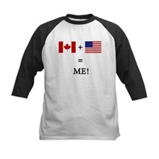 Canada and USA makes ME! Baseball Jersey