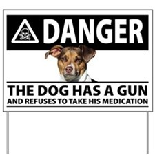 Danger: The Dog Has a Gun