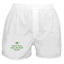 Feck you, you feckin' feck! Boxer Shorts