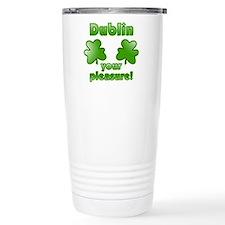 Dublin your pleasure Travel Mug