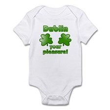 Dublin your pleasure Infant Bodysuit