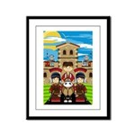 Roman Soldier Framed Print (Small)