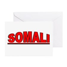"""Somali"" Greeting Cards (Pk of 10)"