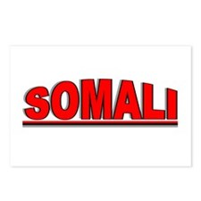 """""""Somali"""" Postcards (Package of 8)"""